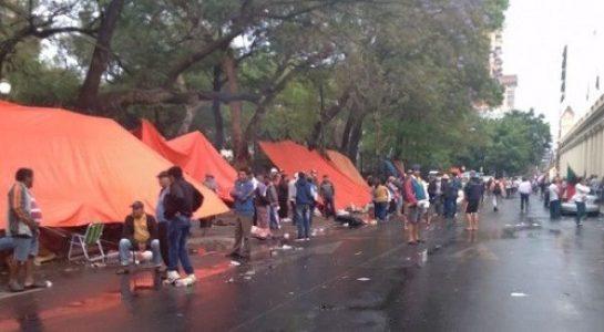 Paraguay. Campesinos exigen al Gobierno cumplir acuerdos