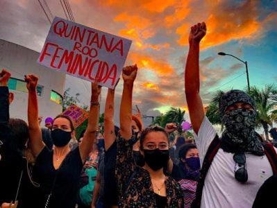 México. Policías de Cancún violentaron sexualmente a mujeres detenidas durante protesta feminista