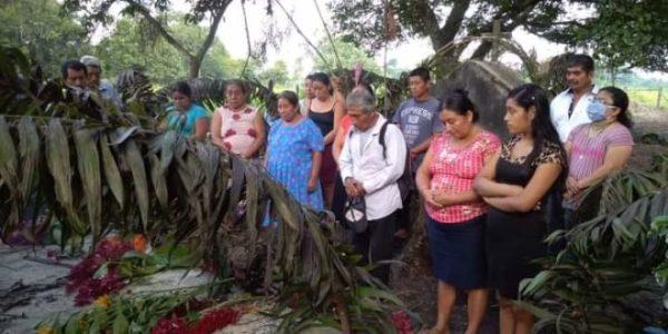 México. Chiapas «El grito de la sangre derramada impunemente en la selva Lacandona. Viejo Velasco tiene sed de justicia»