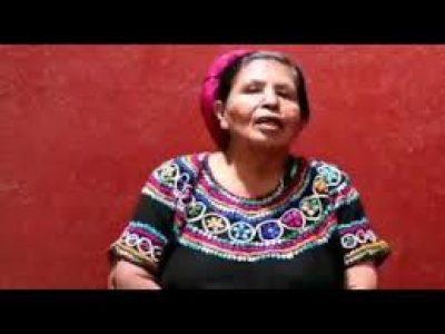 Guatemala. Entrevista a Petrona Siy: «Vamos a seguir adelante» (video)