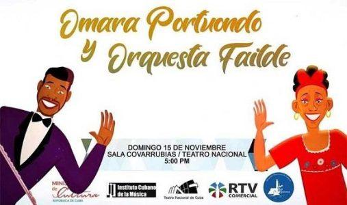Cuba. Omara Portuondo y Orquesta Failde celebran aniversario de La Habana