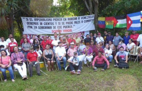 El Salvador. Se cumple un año de custodia solidaria de la embajada de Venezuela (Fotos)