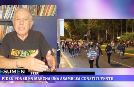 Resumen Latinoamericano tv: Perú: Un basta ya de todo un pueblo