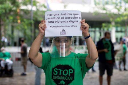 Estado español. La presión para acabar con los desahucios en plena pandemia parece que empieza a funcionar