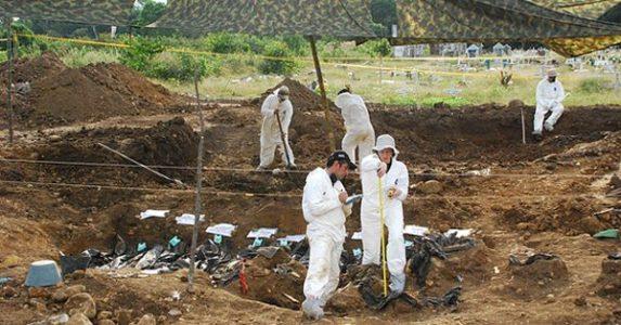 Colombia. El macabro descubrimiento de seis fosas comunes en Dabeiba