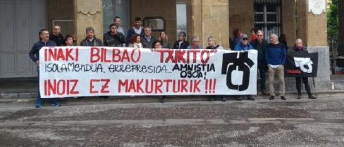 Euskal Herria. Iñaki Gil de San Vicente sobre el preso vasco Iñaki Bilbao: «A Txikito solo lo guía su conciencia revolucionaria»