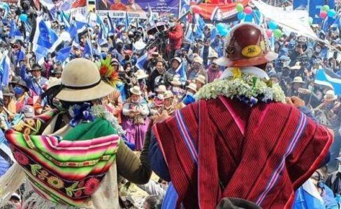 """Bolivia. La autocrítica necesaria: """"No basta con tener el gobierno, hay que tener el poder popular"""""""