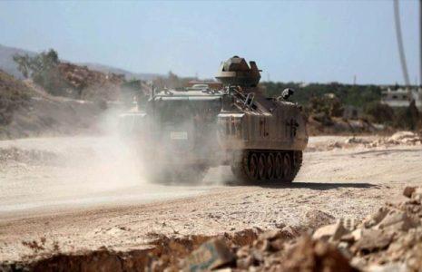 Turquía. Comienza a construir nueva base militar en el norte de Siria