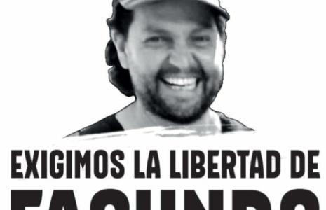 Argentina. Se siguen sumando firmas y declaraciones por la libertad y repatriación de Facundo Molares, detenido en Bolivia desde hace más de un año