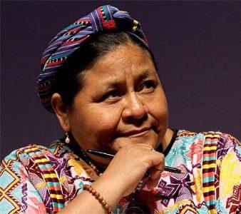 Guatemala. Rigoberta Menchú hace un llamado a la gobernabilidad en el país