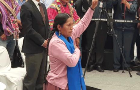 Bolivia. Sabina Orellana fue posesionada como Ministra de Culturas, llama a acabar con el racismo