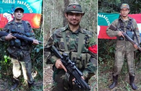 Paraguay. Desde la prisión Cármen Villalba homenajea a los tres guerrilleros asesinados por las balas del gobierno