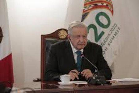 México. AMLO pide en G-20 reducir deudas de países más pobres