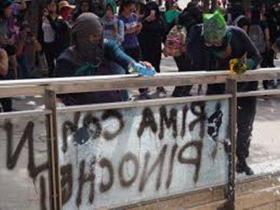 México. Expertos de ONU llaman a autoridades a detener ataques a feministas