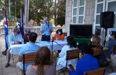 Cuba. Junto a la Unión Europea colaboran en enfrentamiento a la pandemia