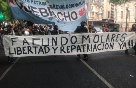 Argentina. Miles de manifestantes marcharon para exigir la libertad inmediata de Facundo Molares // Sigue detenido en Bolivia