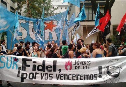 Argentina. La noche que conocimos de la muerte de Fidel