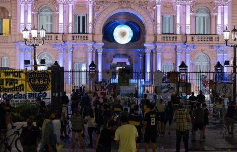 Argentina. La despedida al Diego en las calles (fotos)