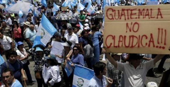 Guatemala. Biden ante una sublevación latinocaribeña
