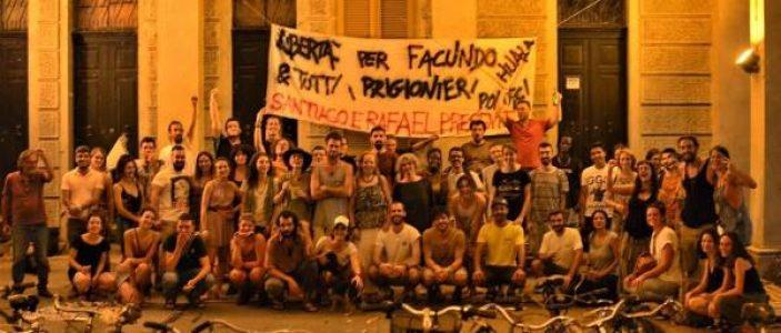 Nación Mapuche. Solidaridad a la «repudiable prisión política del compañero mapuche Facundo Huala»