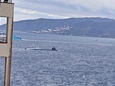 Campo de Gibraltar: Alertan de la presencia de un submarino nuclear estadounidense
