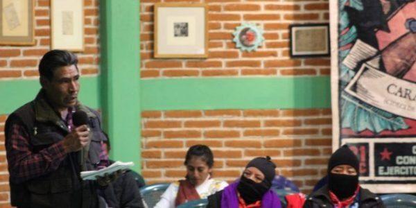 México. CIPOG-EZ, se solidariza con pueblos de Morelos y anuncia una respuesta organizada, ante la «dureza con la que el gobierno de AMLO nos continúa atacando»