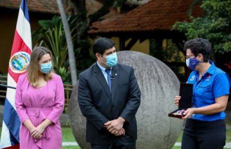 Costa Rica. Presidente Alvarado resalta la decisión de abolir el ejército
