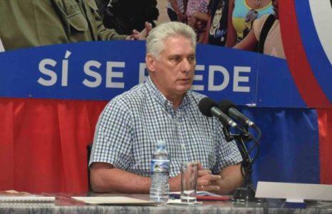 Cuba. Presidente denuncia la violencia y terrorismo de Estados Unidos