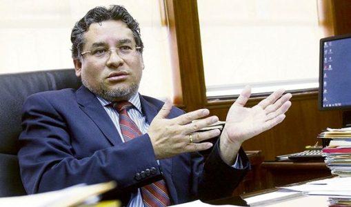 Perú. Rubén Vargas renuncia al cargo de ministro del Interior