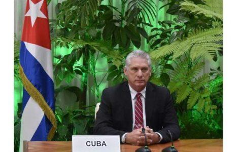Cuba. Presidente participará en reunión virtual de ONU