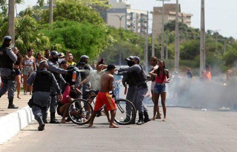 Brasil. Desalojo de familias que vivían en situación precaria debajo de un puente genera represión y enfrentamientos en São Luís, Maranhão