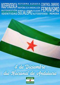 Nación Andaluza ante el Día Nacional Andalucía ¡Todos los días son 4 de diciembre!