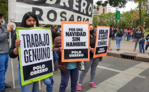 Argentina. Multitudinaria protesta en todo el país de organizaciones sociales de izquierda