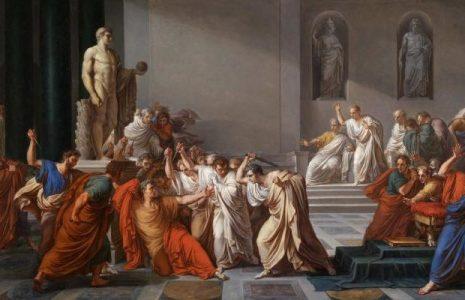 Pensamiento crítico. Trump y Julio César, asesinados en el Senado