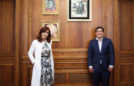 Ecuador. Protesta de la Cancilleria por gesto de la vicepresidenta argentina Cristina Fernández