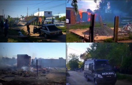 Argentina. Escobar: familias desalojas del Barrio Stone reclamarán por un «año nuevo con techo»