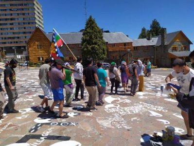 Nación Mapuche. El espacio público es Memoria, Verdad, Justicia