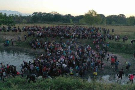México. Caravanas de «damnificado» en Centroamérica alistan su viaje a EEUU