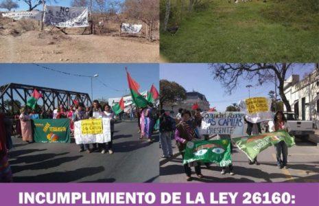 Pueblos originarios. Amenaza de desalojo en Pueblos Indígenas Ocloya y Tilian