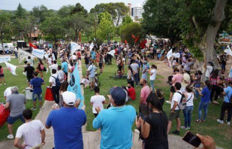 """Argentina. Acto en apoyo a la COOPI de Villa Carlos Paz, para demandar que """"el agua no es un negocio"""""""
