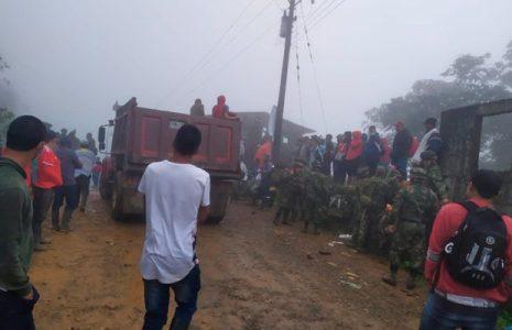 Colombia. Comunidad de El Tambo, expulsa al Ejército de su territorio