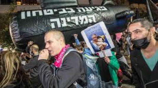 Israel. Israelíes renuevan protestas y piden renuncia de Netanyahu