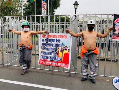 Perú. Trabajadores mineros continúan en huelga indefinida