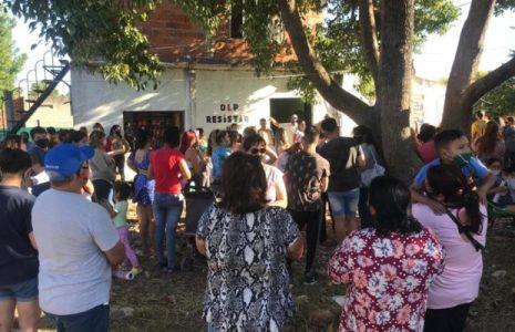 Argentina. En el barrio de Ezeiza inauguraron local de la OLP-Resistir y Luchar / Más de 300 vecinos y vecinas ratificaron la unidad en la lucha (fotos + videos)