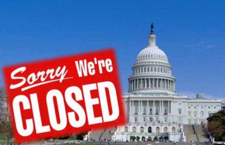Estados Unidos. Cerca de cierre de gobierno