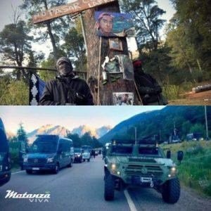 Nación Mapuche. Guerra contra Comunidad ( desalojo y represión)