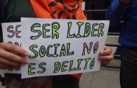 Colombia. ALBA Movimientos condena detención de líderes agrarios