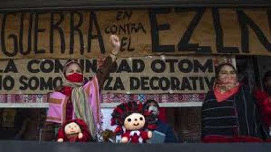 México: Decreto de Zacatecas 74 se lo arrebatamos al gobierno / Detienen arbitrariamente a otomís que participan en la toma del INPI
