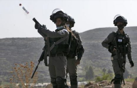 Palestina. Fuerzas israelíes disparan en la cara a un joven palestino