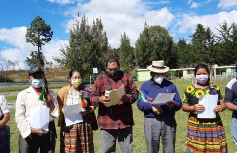 Guatemala. Autoridades ancestrales proponen una Asamblea Nacional Constituyente